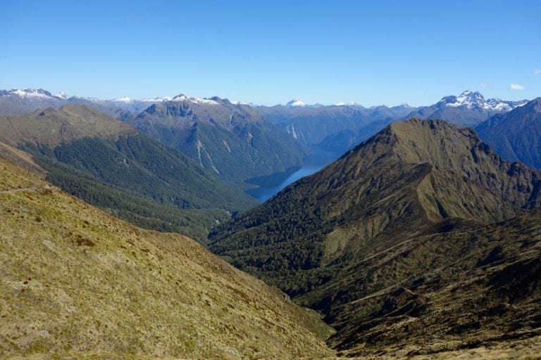 Kepler Track view, New Zealand