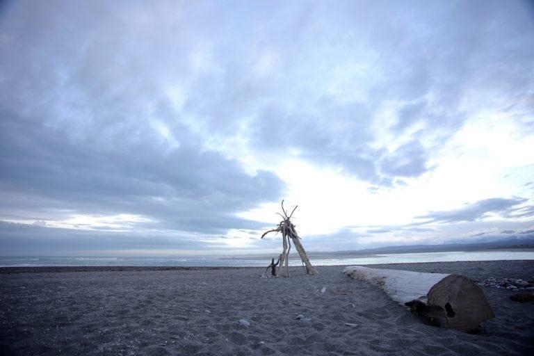 Okarito beach, New Zealand