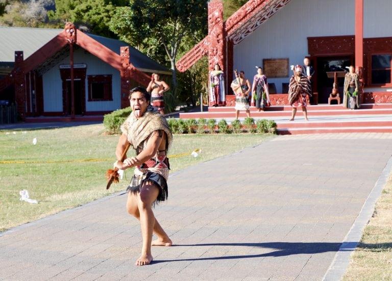 2017 Tarawera Ultramarathon haka