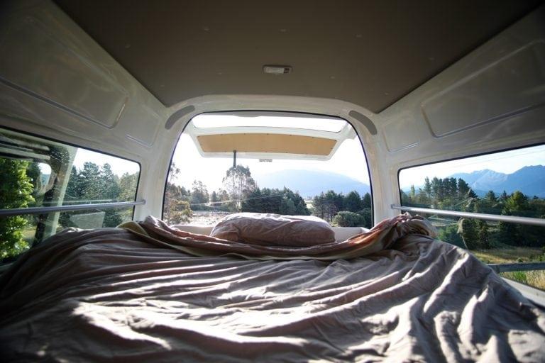 New Zealand campervan