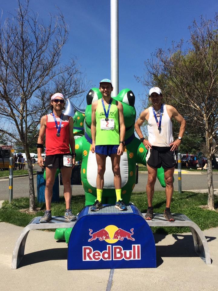 2017 American River 50 Mile men's podium