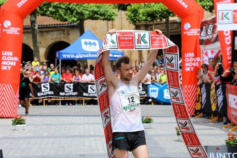2017 Zegama Marathon - Stian Angermund-Vik - finish