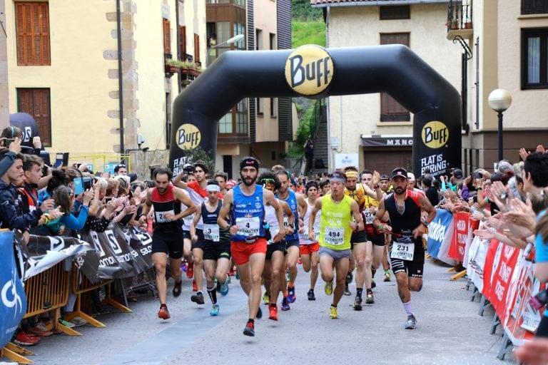 2017 Zegama-Aizkorri Marathon - Aritz Egea start