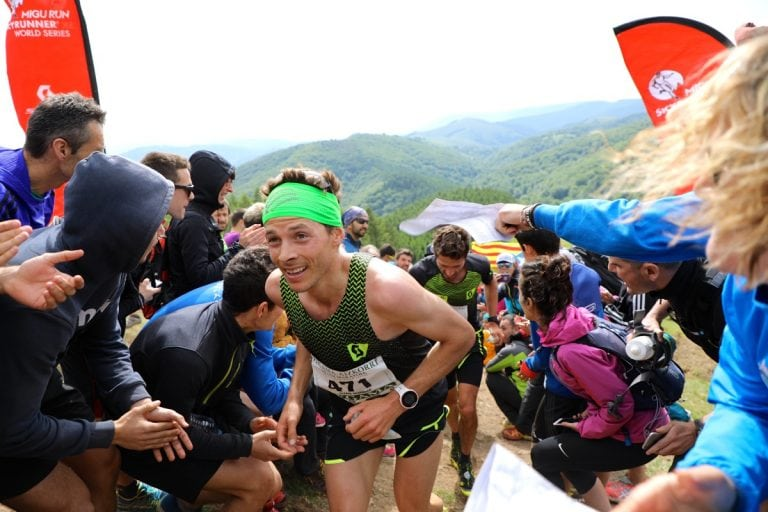 2017 Zegama-Aizkorri Marathon - Alexis Sevennec and Adrien Michaud
