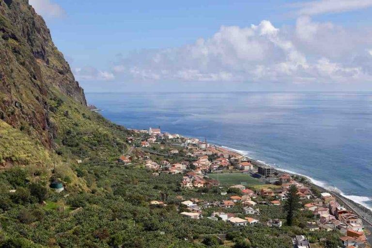 Village of Jardim do Mar on Madeira