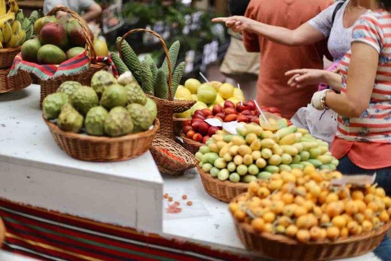 Fruit at the Mercado dos Lavradores on Madeira