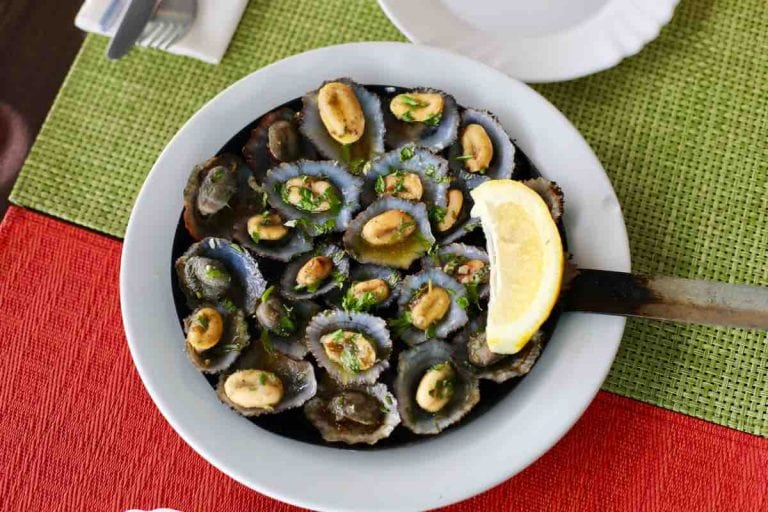 Madeira limpets