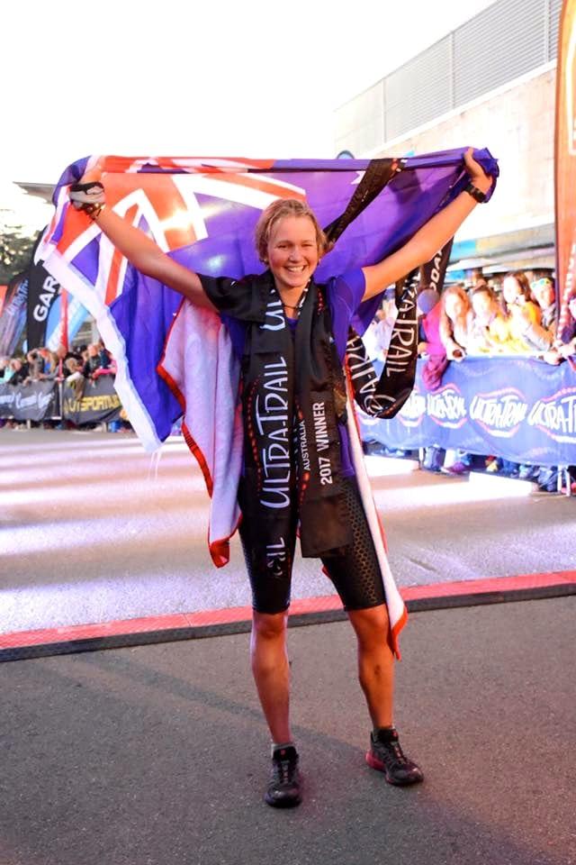 Lucy Bartholomew - 2017 Ultra-Trail Australia