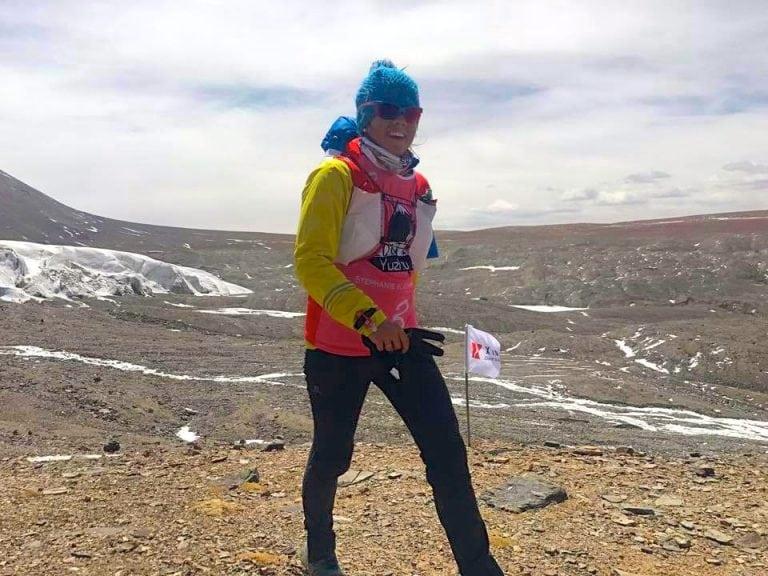Stevie Kremer - 2017 FKT Yuzhu Peak - X Trail