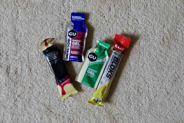 Energy gels and chews