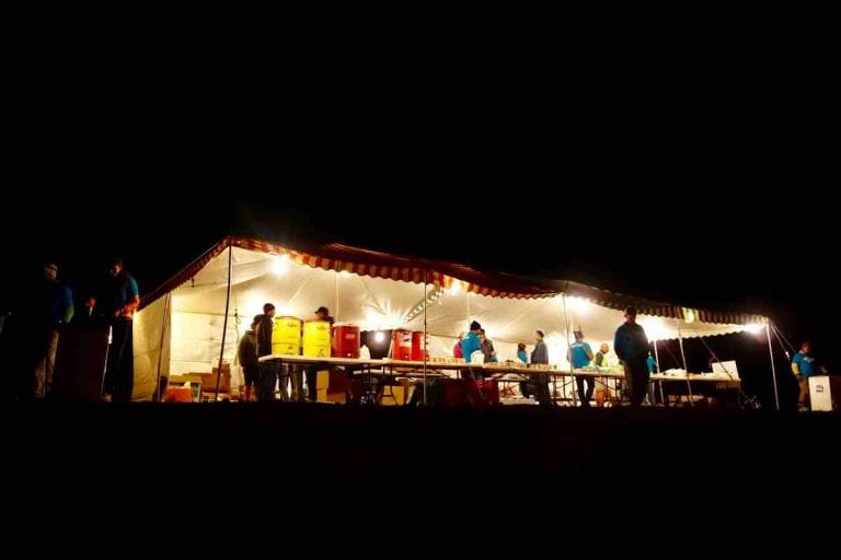 May Queen Aid Station at the Leadville Trail 100