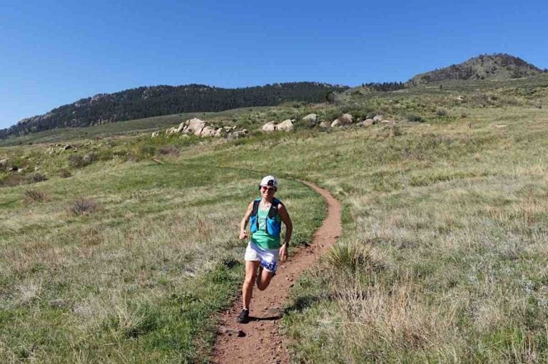 Marianne Hogan - 2017 Quad Rock 50 Mile champion
