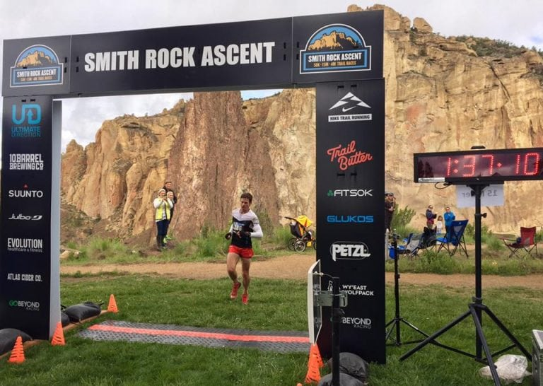 Max King - 2017 Smith Rock Ascent 15-mile champion
