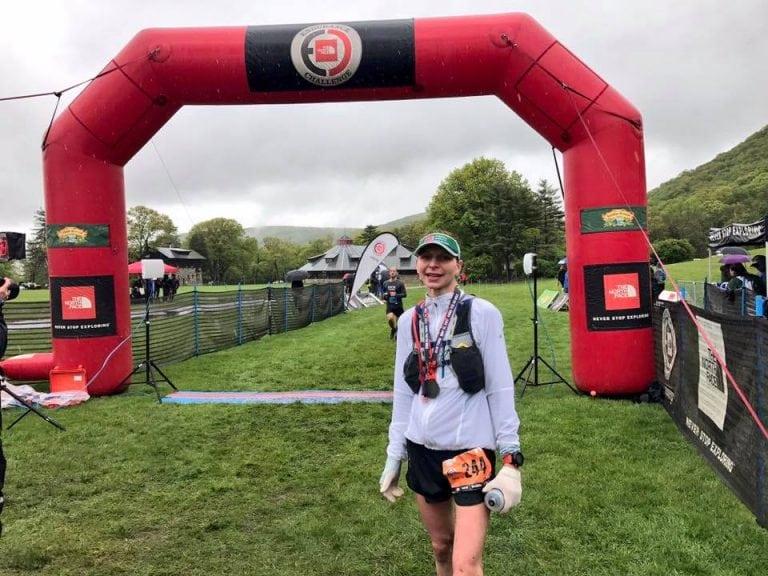Helene Michaux - 2017 TNF EC 50 Mile - New York champion