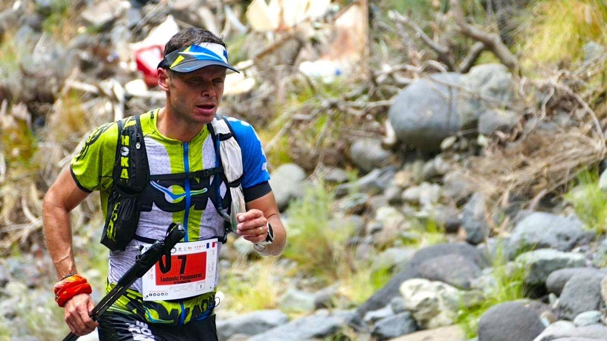 Ludovic Pommeret - 2017 Transvulcania Ultramarathon second place