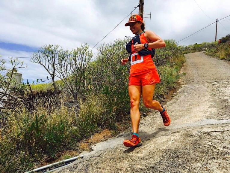 Hillary Allen - 2017 Transvulcania Ultramarathon third place