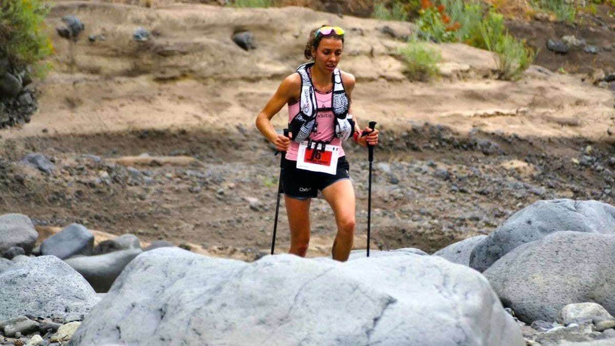 Anne-Lise Rousset - 2017 Transvulcania Ultramarathon second place