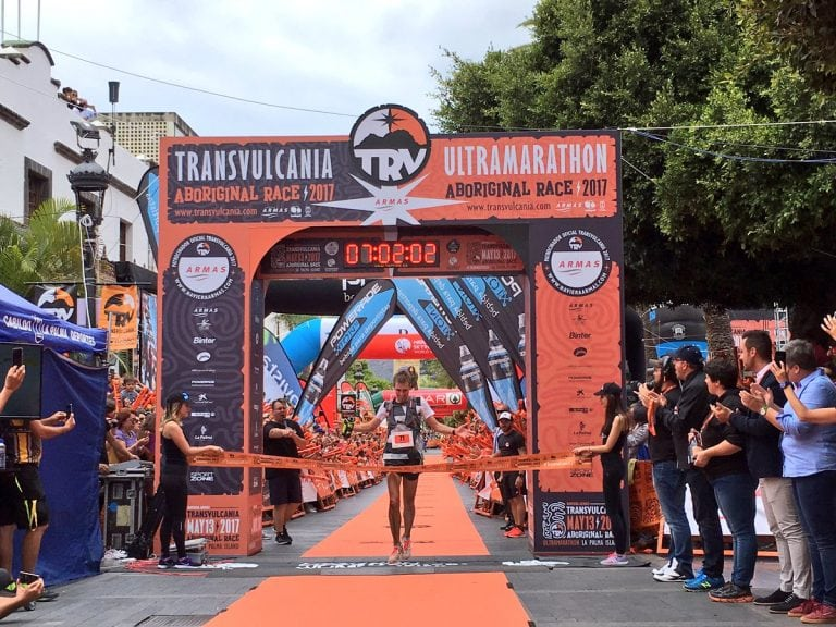Tim Freriks - 2017 Transvulcania Ultramarathon winner