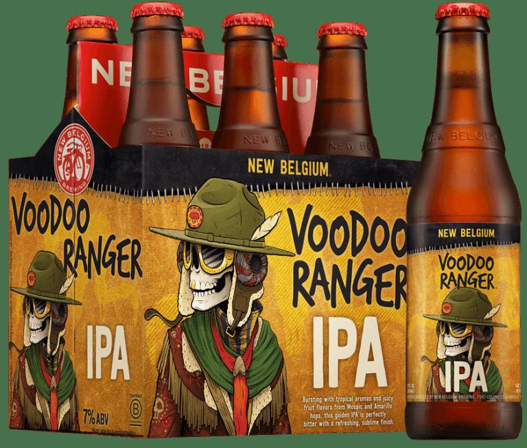 New Belgium Brewing Company Voodoo Ranger IPA