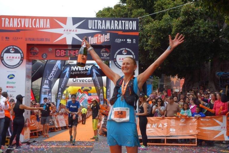 Ida Nilsson - 2016 Transvulcania win