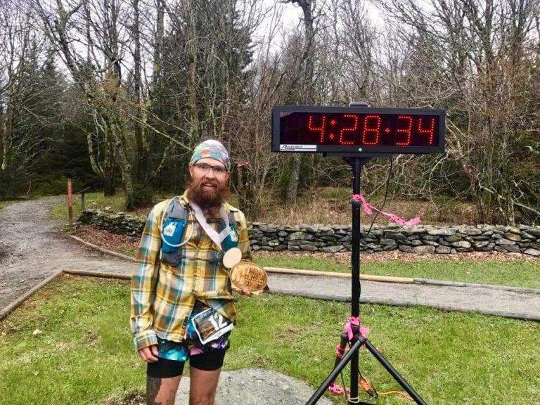 Steve Barber - 2017 Grayson Highlands 50k champion