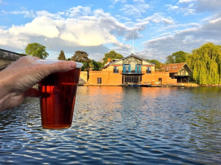2017 Thames Path 100 - Henley Beer