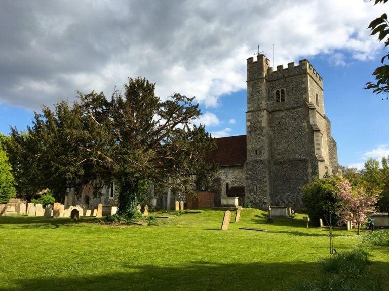 Thames Path 100 - Church