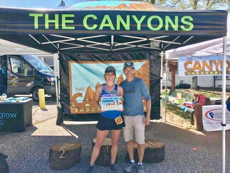 Jen Benna - 2017 Canyons 50k winner