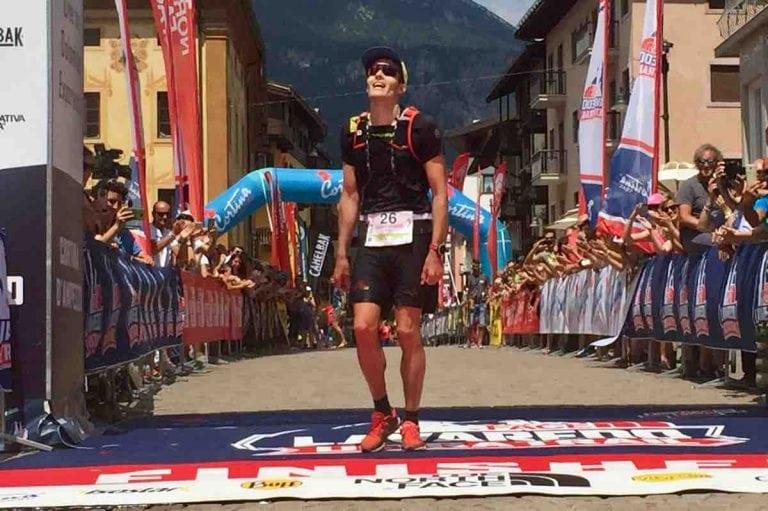 Erik-Sebastian Krogvig - 2017 Lavaredo Ultra Trail third place