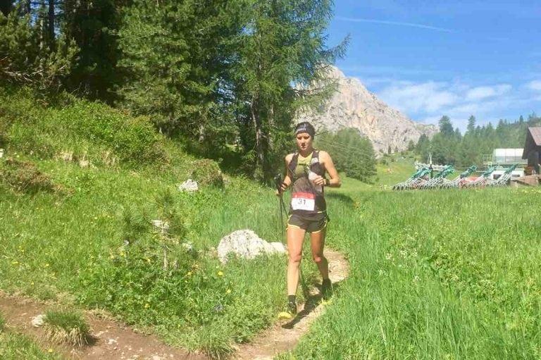 Ruth Croft - 2017 Lavaredo Ultra Trail second place