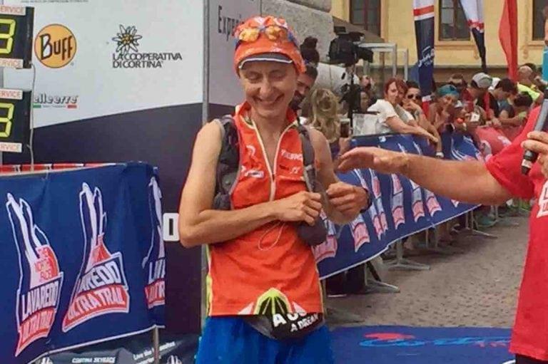 Lisa Borzani - 2017 Lavaredo Ultra Trail third place