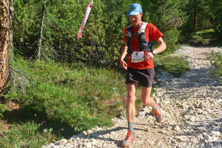 Seth Swanson - 2017 Lavaredo Ultra Trail second place