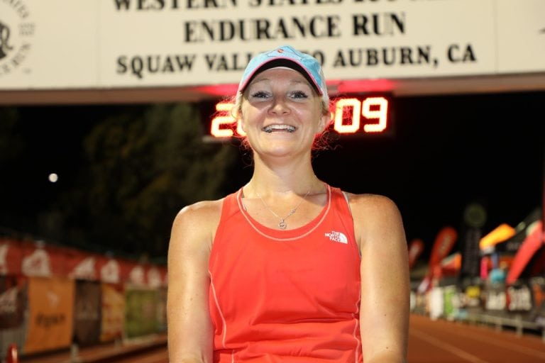 2017 Western States 100 - Sabrina Stanley - Finish