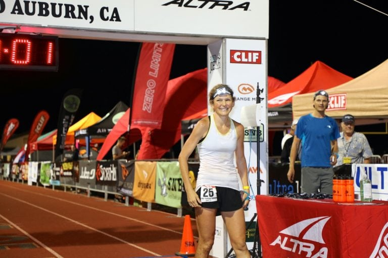 2017 Western States 100 - Nicole Kalogeropoulos - finish