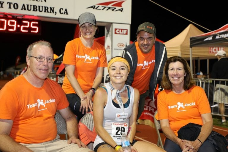 2017 Western States 100 - Jackie Merritt - finish