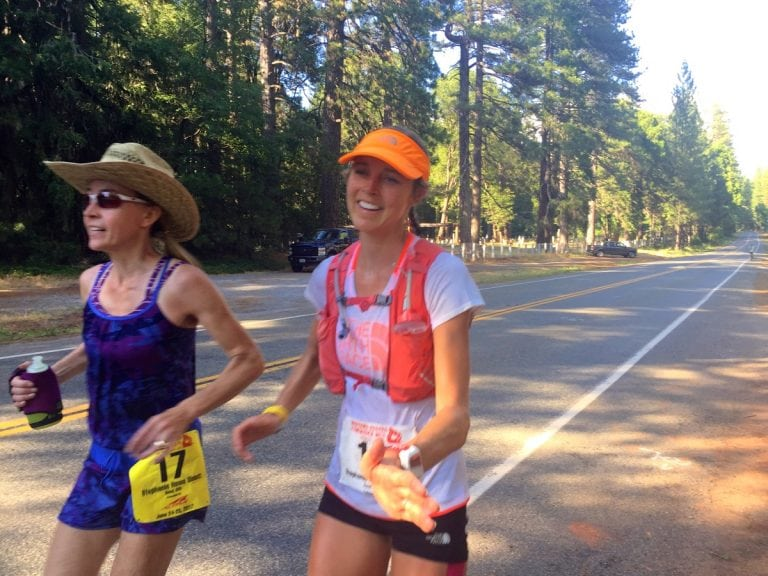 2017 Western States 100 - Stephanie Howe - Foresthill