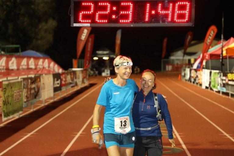 2017 Western States 100 - Andrea Huser finish