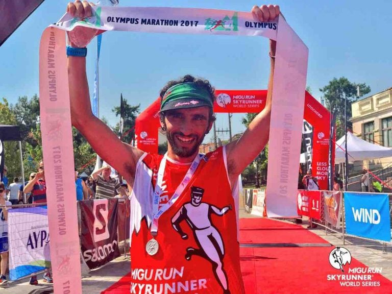 Aritz Egea - 2017 Olympus Marathon champion