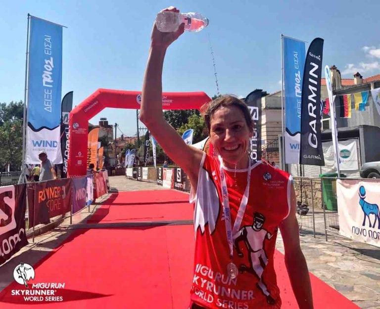 Ragna Debats - 2017 Olympus Marathon champion