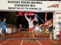 2017 Western States 100 Men's Podium Video Finishes