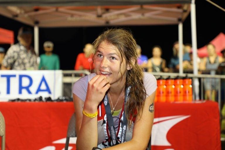 Cat Bradley - 2017 Western States 100 Finish Line Interview