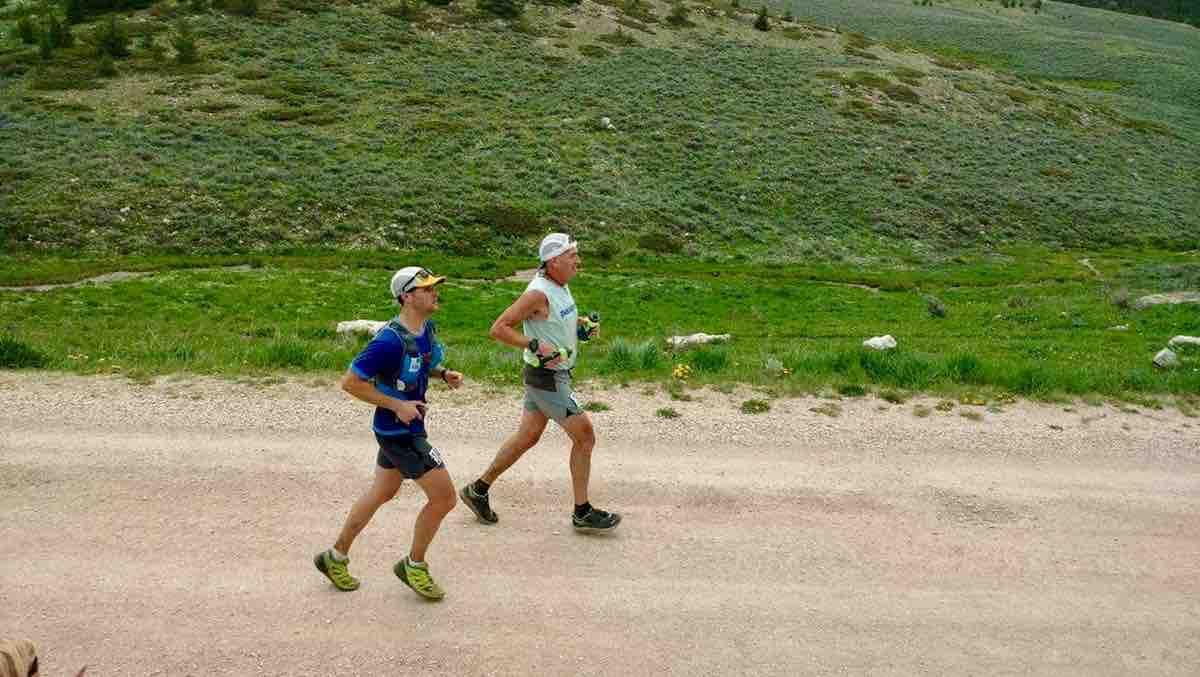 Andy Jones-Wilkins - 2017 Bighorn Trail Run 100 Mile 1