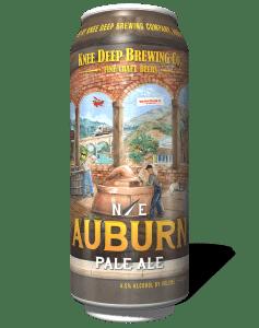 Knee Deep Brewing Company Northeast Auburn Pale Ale