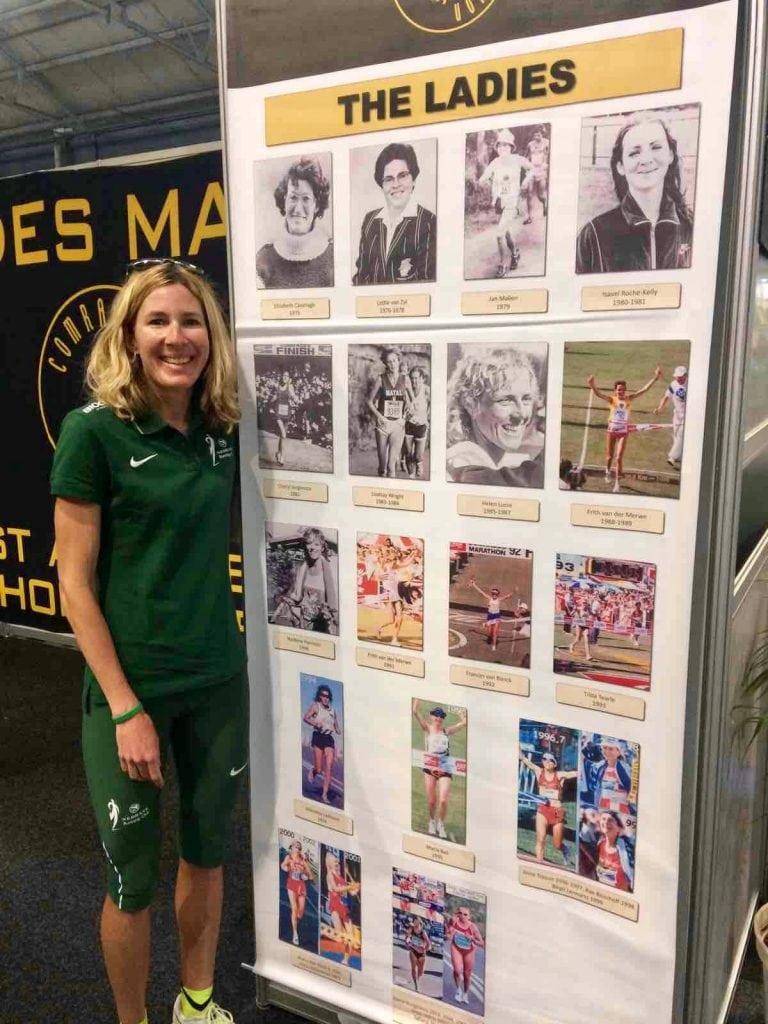 Camille Herron and Comrades Marathon history