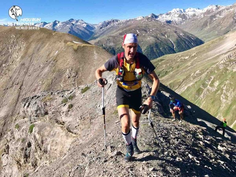 Tadei Pivk - 2017 Livigno Skymarathon champion