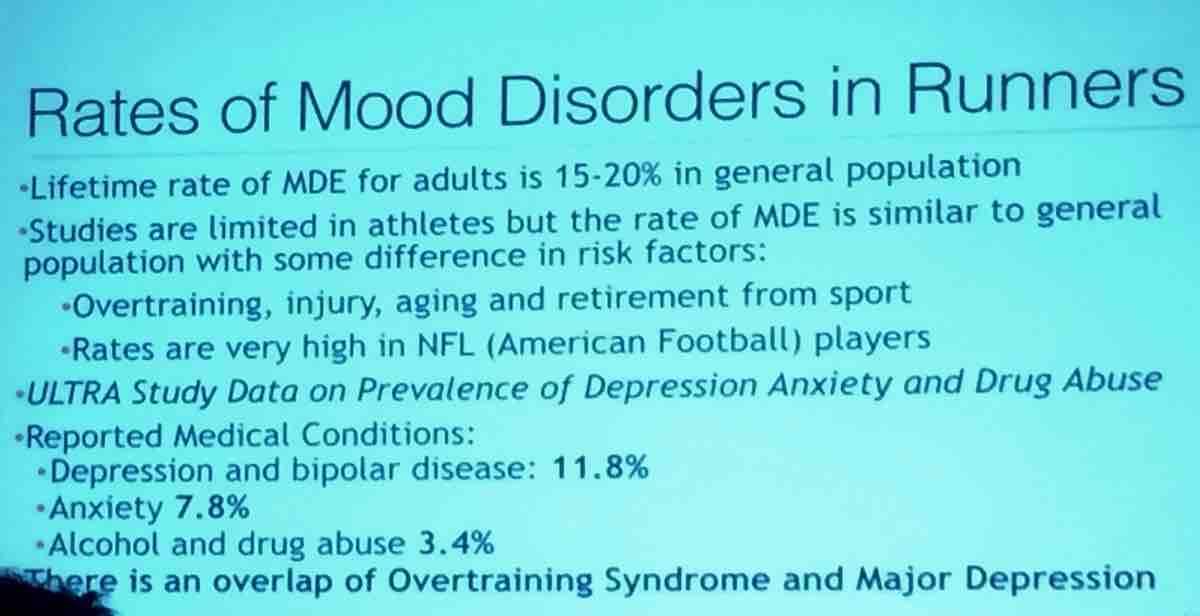 Mood Disorders in Runners slide