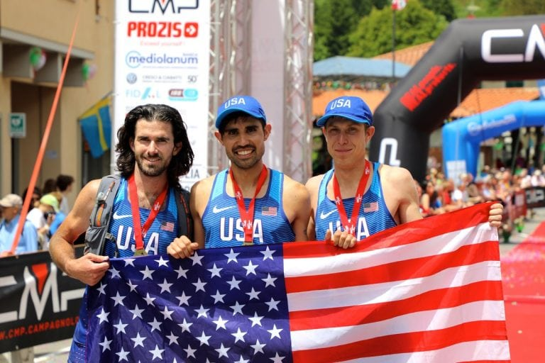 2017 Trail World Championships - USA team - finish