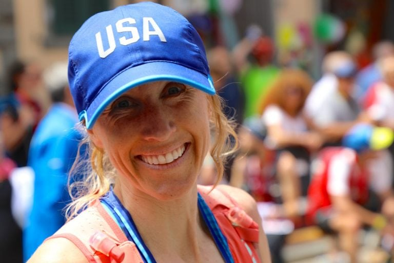 2017 Trail World Championships - Ladia Albertson Junkans - finish