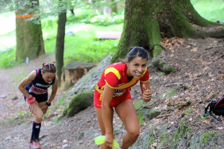 2017 Trail World Championships - Gemma Arenas - Nathalie Maucliar - 9km