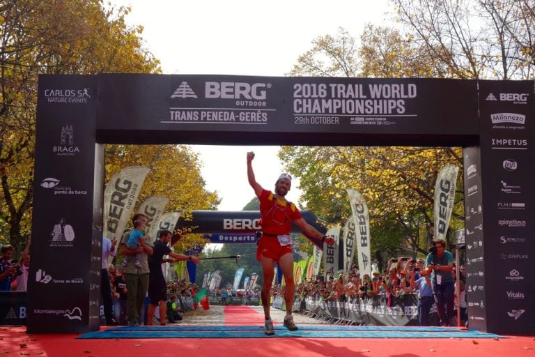 2016 IAU Trail World Championship - Luis Alberto Hernando win